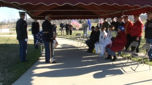 Homeless Veteran Laid To Rest